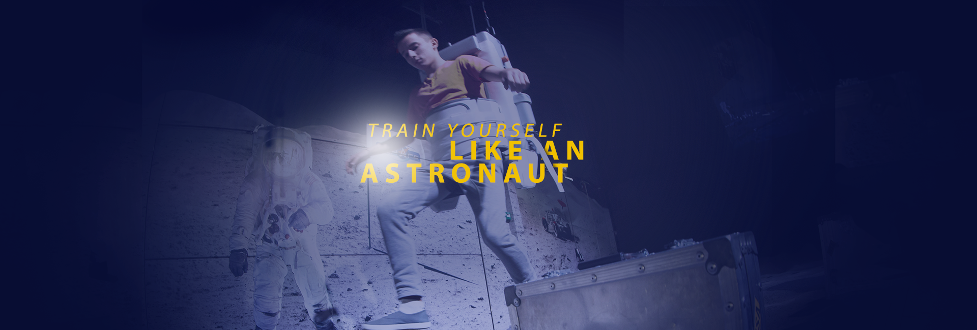 Train yourself like an astronaut