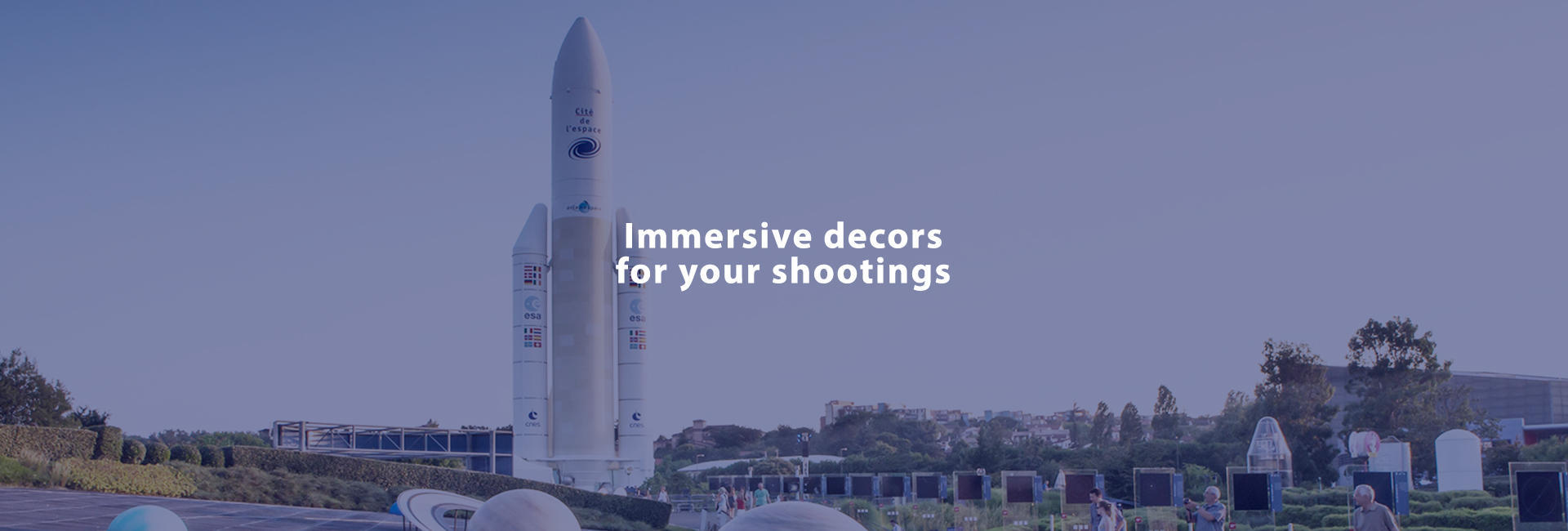 Immersive decors for your shootings