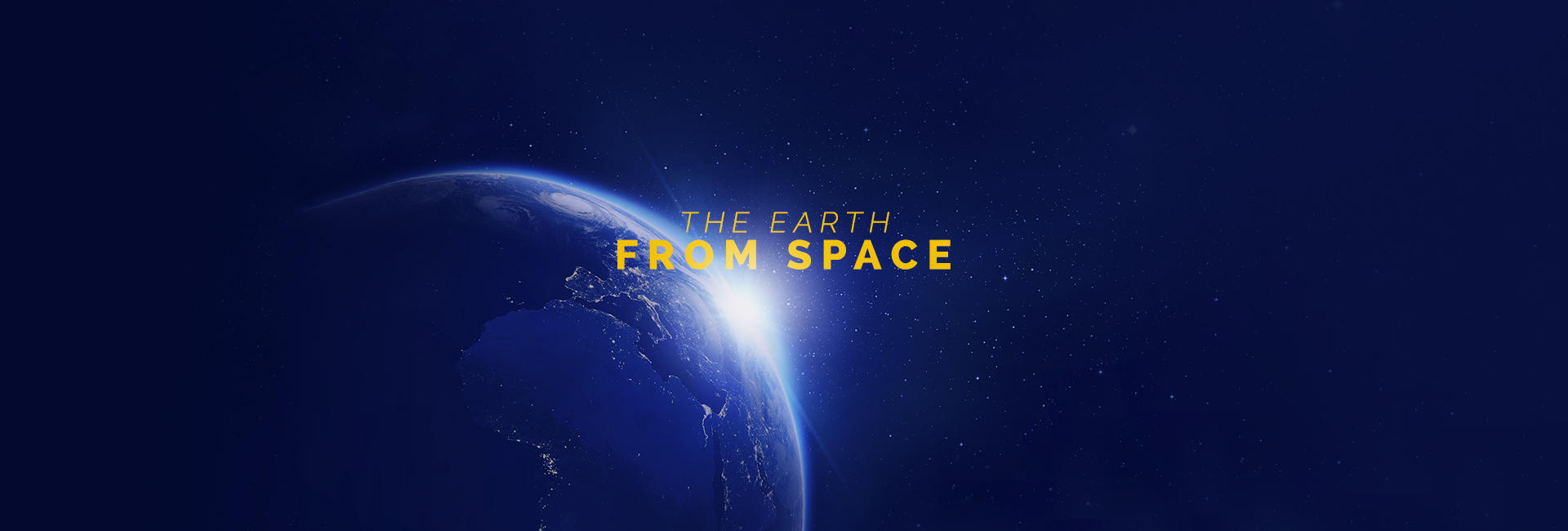 The earth from space