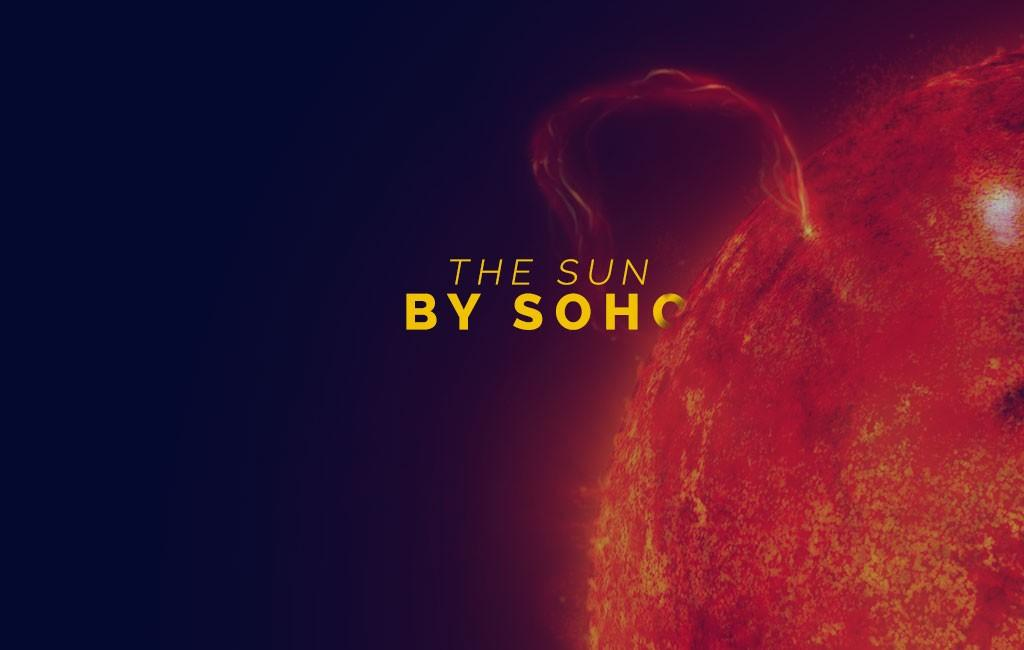 The sun by SOHO