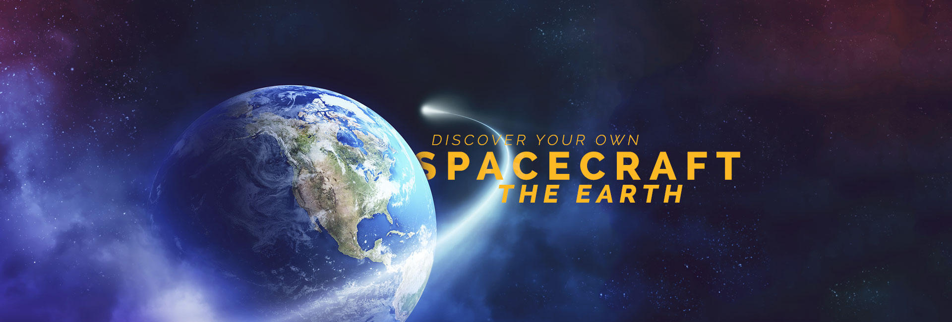 Climb aboard the vessel that is Earth