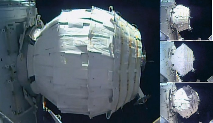 BEAM, an inflated module for the ISS