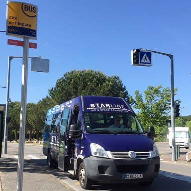 NEW STARLINE SHUTTLE AIR AND SPACE CONNECTION