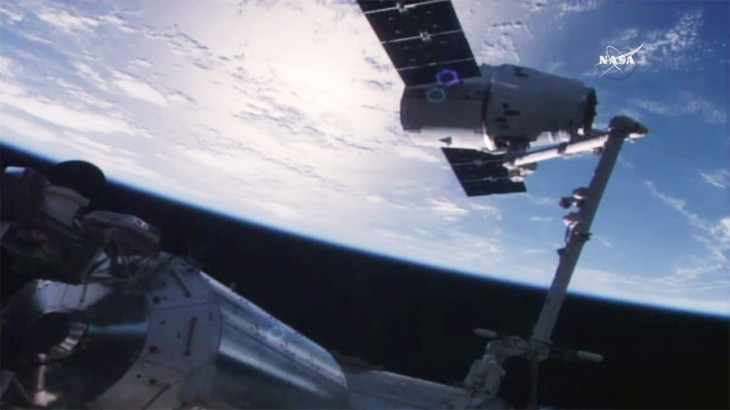 Tonnes of cargo transported to the ISS by Progress and Dragon