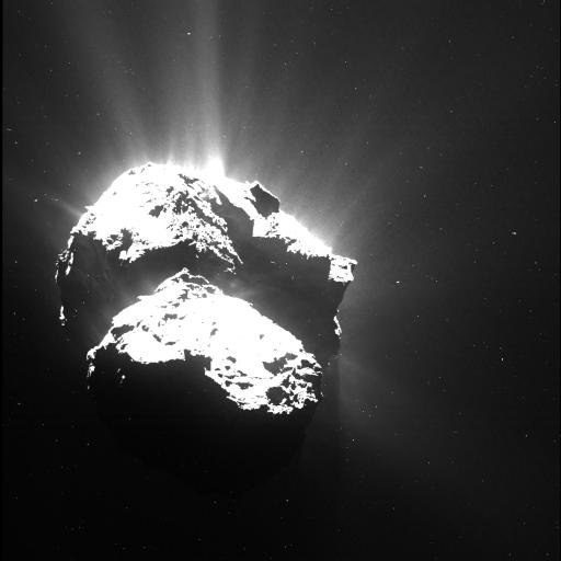 End of mission Rosetta