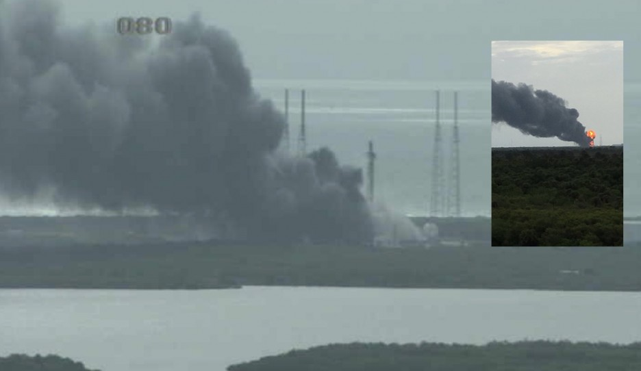 SpaceX: explosion on the ground in Florida