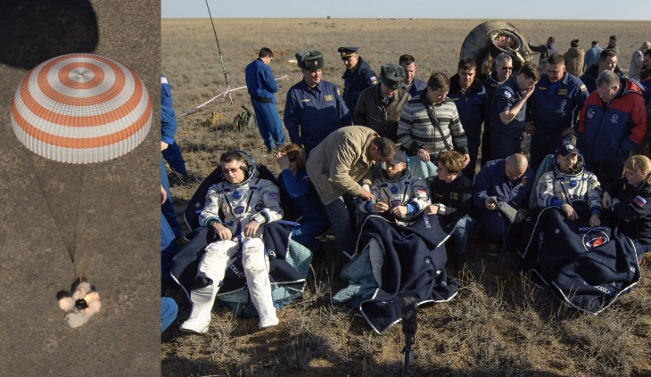 Soyuz MS-02 returns after 173 days in space