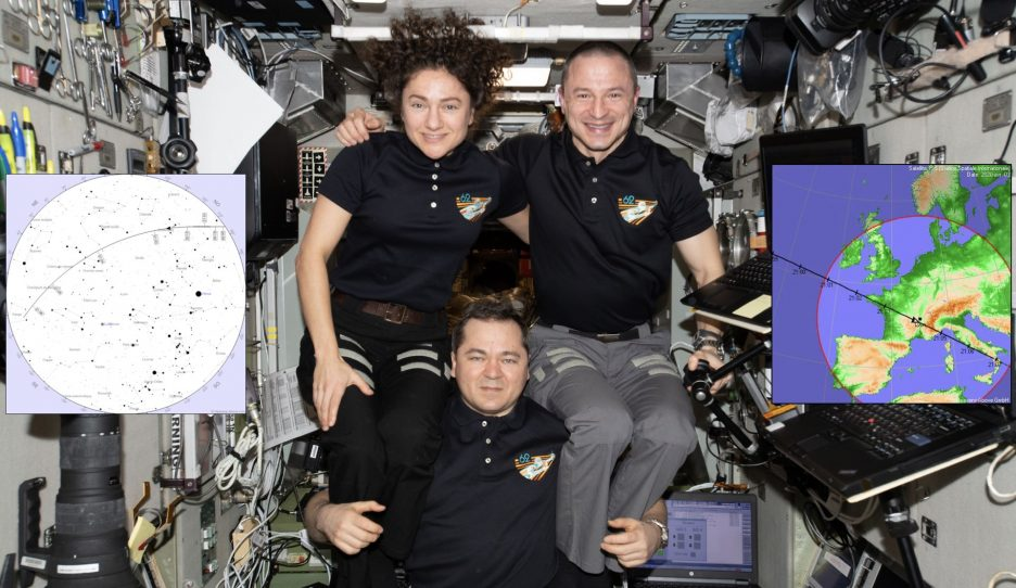 Watch the ISS Pass on 3 April