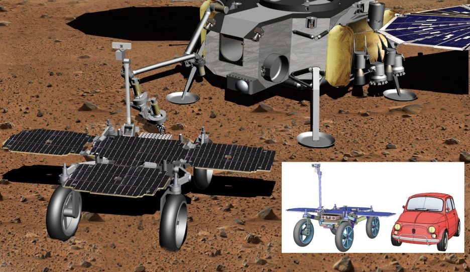 Bringing Back Martian Samples: Airbus is Working on the Rover