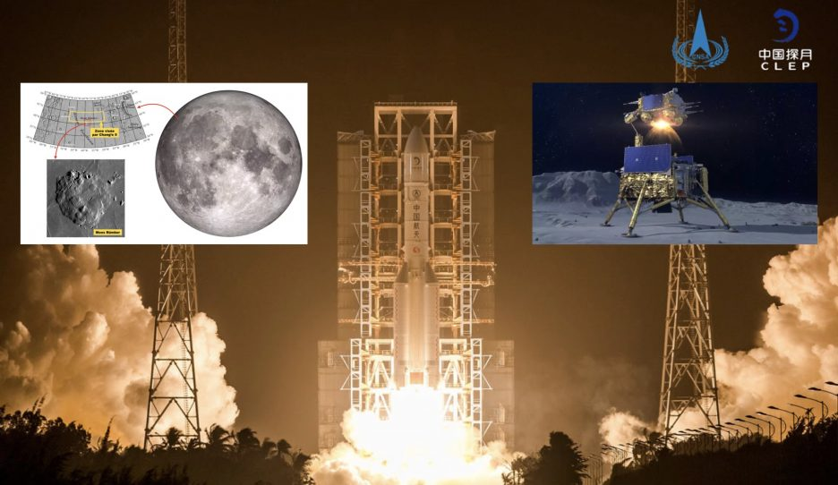 With Chang'e 5 China wants to bring the Moon back to Earth