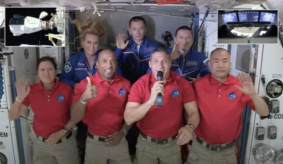 With Crew-1, Expedition 64 is complete