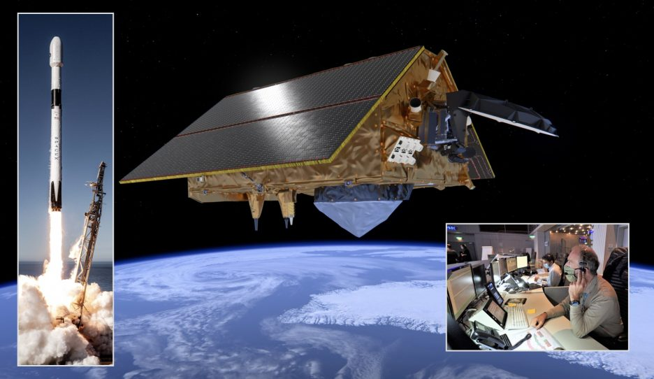 Sentinel-6A monitors the level of the oceans