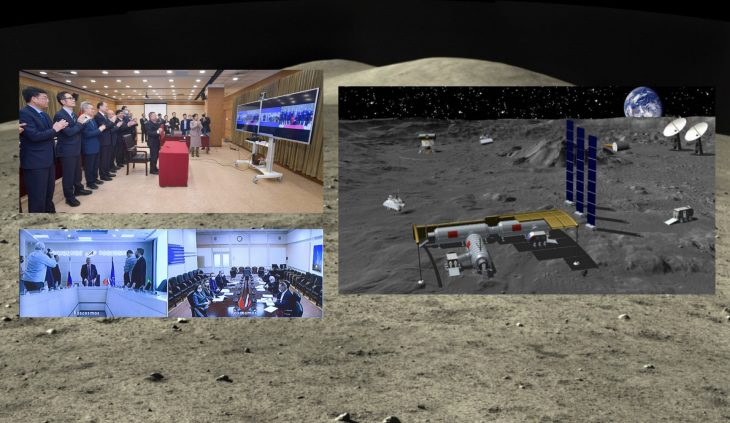 Russia, china's partner for the moon
