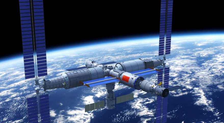 A Future Chinese Space Station: Launch of the First Section, Tianhe