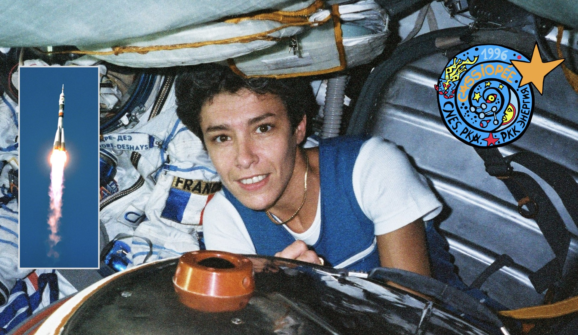 25 YEARS AGO: CLAUDIE HAIGNERÉ, FIRST FRENCH WOMAN IN SPACE